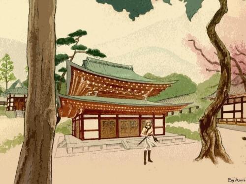 Saiunkoku Monogatari, Seiran Shi Wallpaper
