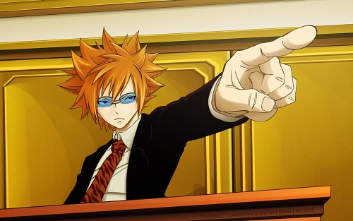 Hiro Mashima, Capcom, Satelight, Fairy Tail, Ace Attorney Wallpaper