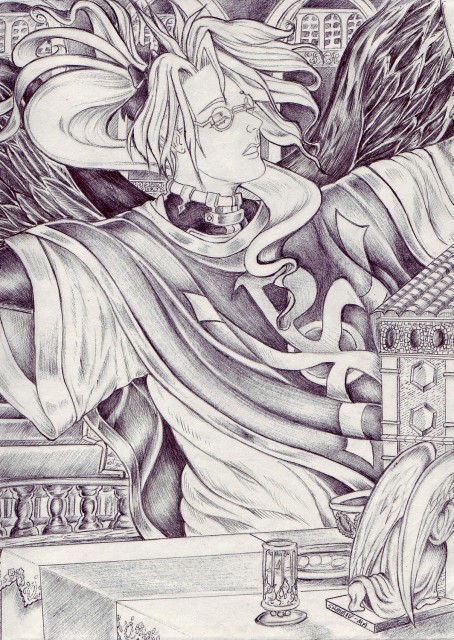 Gonzo, Trinity Blood, Abel Nightroad, Member Art
