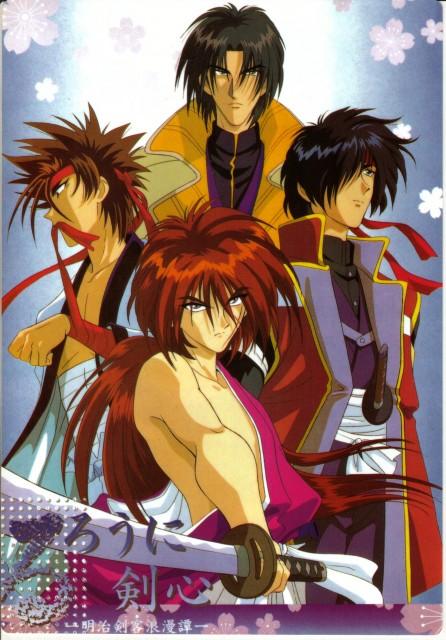 Nobuhiro Watsuki, Studio Deen, Studio Gallop, Rurouni Kenshin, Kenshin Himura