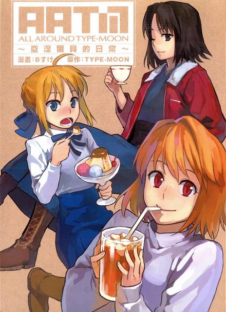 TYPE-MOON, Kara no Kyokai, Shingetsutan Tsukihime, Fate/stay night, Shiki Ryougi