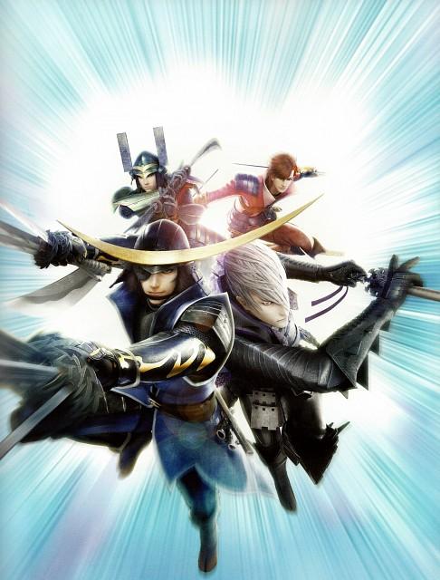 Capcom, Sengoku Basara 4 Official Complete Works, Sengoku Basara, Masamune Date, Katsuie Shibata (Sengoku Basara)