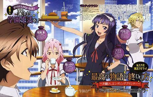 Masashi Hizuka, Production I.G, GUILTY CROWN, Inori Yuzuriha, Daryl Yan