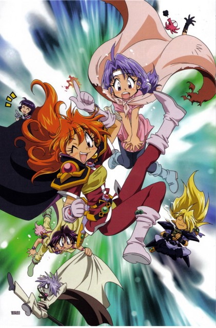 J.C. Staff, Slayers, Zelgadis Greywords, Xellos, Gourry Gabriev