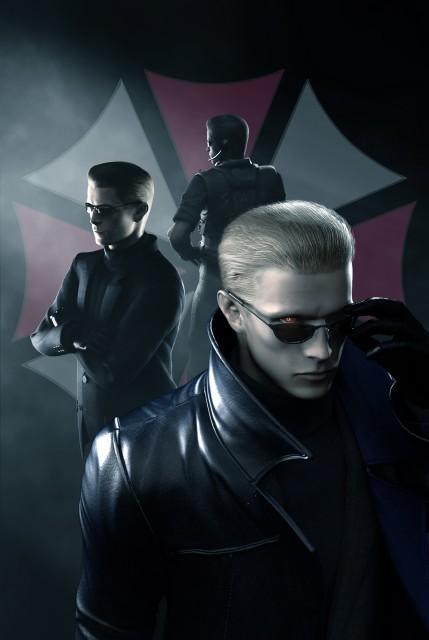 Capcom, Resident Evil: The Umbrella Chronicles, Albert Wesker, Official Digital Art