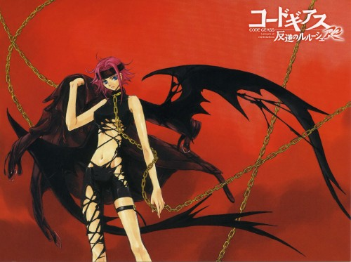 CLAMP, Lelouch of the Rebellion, Kallen Stadtfeld, Postcard