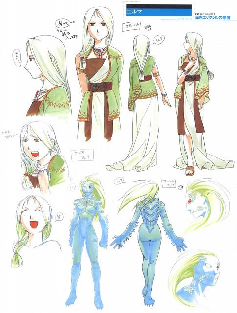 Hiromu Arakawa, BONES, Fullmetal Alchemist, Fullmetal Alchemist Artbook Vol. 2, Character Sheet