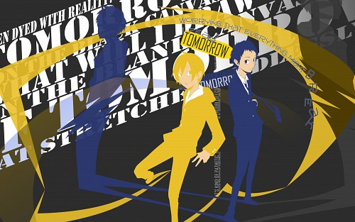Suzuhito Yasuda, Brains Base, DURARARA!!, Masaomi Kida, Mikado Ryugamine Wallpaper