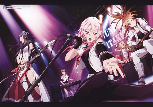 Production I.G, GUILTY CROWN, Guilty Crown Visual Collection, Inori Yuzuriha, Hare Menjou