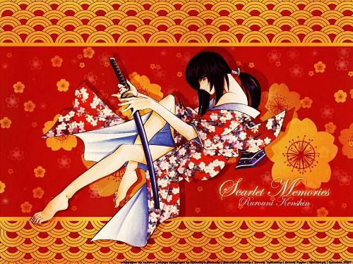 Nobuhiro Watsuki, Rurouni Kenshin, Tomoe Yukishiro Wallpaper