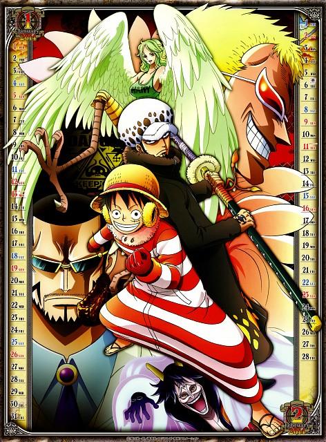 Eiichiro Oda, Toei Animation, One Piece, Monet, Trafalgar Law