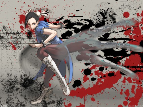 Street Fighter, Chun-Li Wallpaper