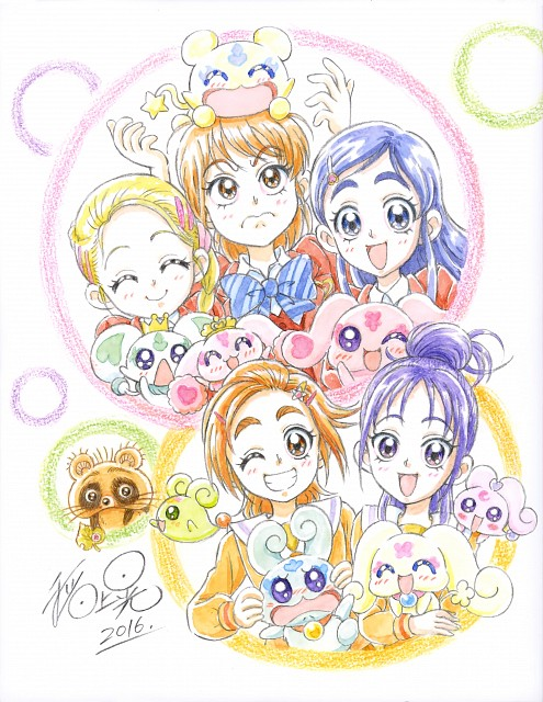 Toei Animation, Precure Splash Star, Futari wa Precure, Akira Inagami Toei Animation Works, Moop