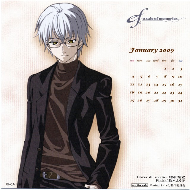 Shaft (Studio), ef - a fairy tale of the two., Yuu Himura, Calendar