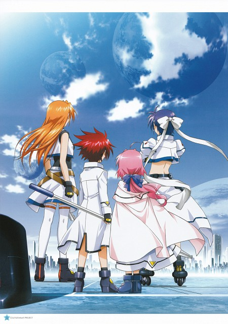 Seven Arcs, Mahou Shoujo Lyrical Nanoha StrikerS, MSLN StrikerS Visual Collection 2, Subaru Nakajima, Erio Mondial