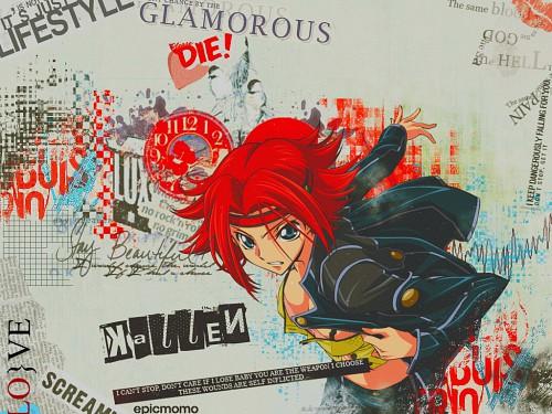 Takahiro Kimura, Sunrise (Studio), Lelouch of the Rebellion, Kallen Stadtfeld Wallpaper