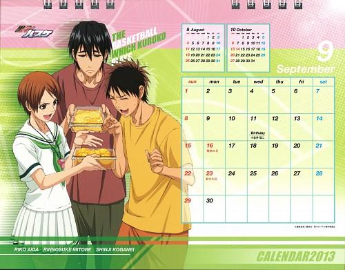 Tadatoshi Fujimaki, Production I.G, Kuroko no Basket, Kuroko no Basket 2013 Anime Calendar, Riko Aida
