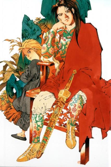 Akihiro Yamada, Twelve Kingdoms, Shouryu, Enki