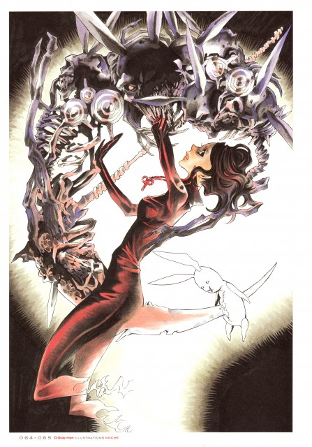 Katsura Hoshino, D Gray-Man, Noche - D.Gray-man Illustrations, Miranda Lotto