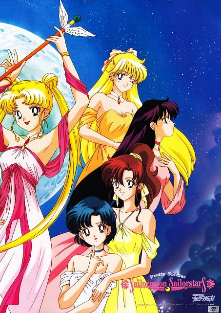 Toei Animation, Bishoujo Senshi Sailor Moon, Usagi Tsukino, Rei Hino, Minako Aino