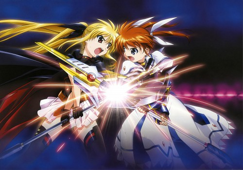 Seven Arcs, Mahou Shoujo Lyrical Nanoha, MSLN The Movie 1st Visual Collection 2, Fate Testarossa, Nanoha Takamachi