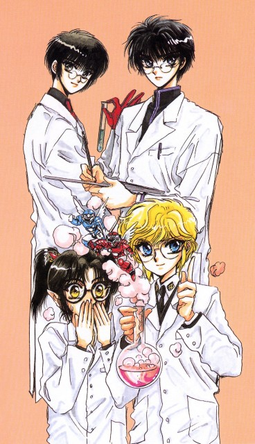 CLAMP, Madhouse, Studio Pierrot, CLAMP School Detectives, Duklyon