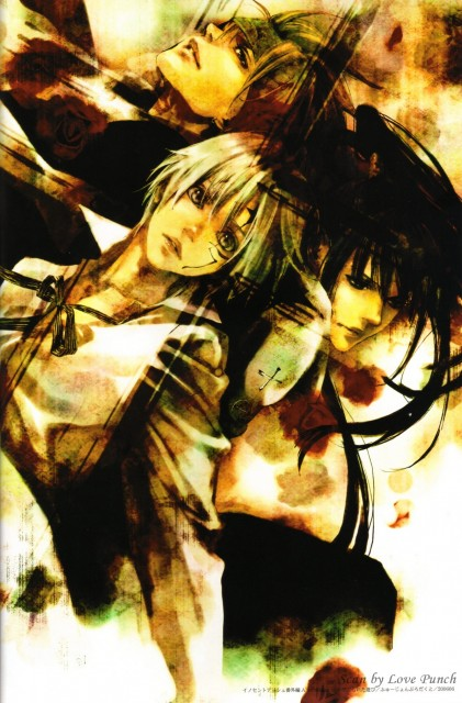 AYA, Houseki Hime, D Gray-Man, Riot of Flowers, Yu Kanda