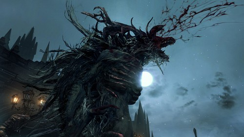 FromSoftware, Bloodborne, Cleric Beast, Game CG