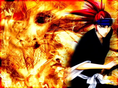 Kubo Tite, Studio Pierrot, Bleach, Renji Abarai Wallpaper