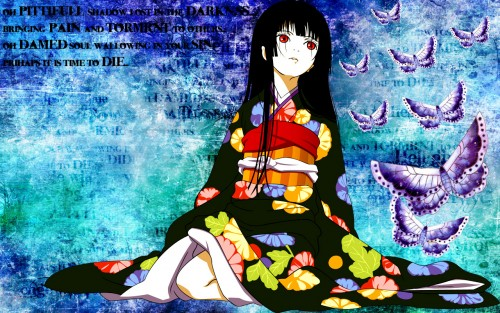 Jigoku Shoujo, Ai Enma Wallpaper