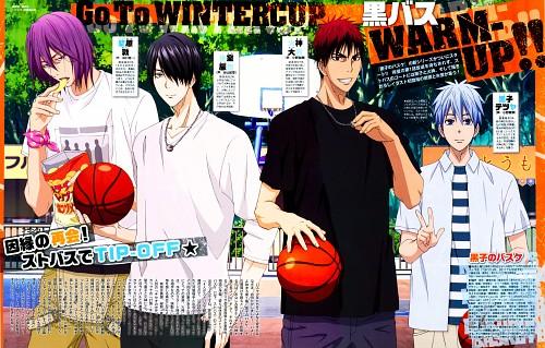 Tadatoshi Fujimaki, Production I.G, Kuroko no Basket, Tatsuya Himuro, Atsushi Murasakibara