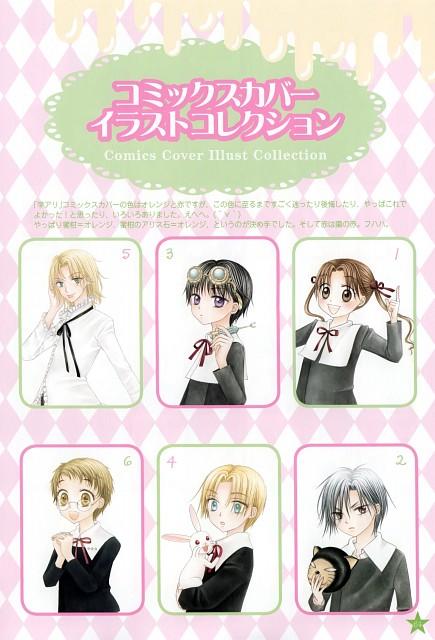 Tachibana Higuchi, Gakuen Alice, Graduation - Gakuen Alice Illustration Fan Book, Yuu Tobita, Mikan Sakura