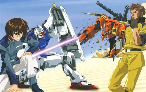 Hisashi Hirai, Sunrise (Studio), Mobile Suit Gundam SEED, Mobile Suit Gundam Seed & Seed Destiny Pinup Collection, Andrew Waltfeld