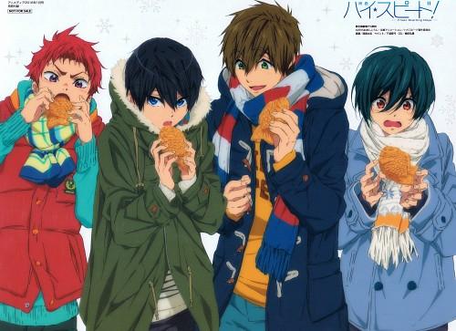 Futoshi Nishiya, Kyoto Animation, Free!, Asahi Shiina, Ikuya Kirishima