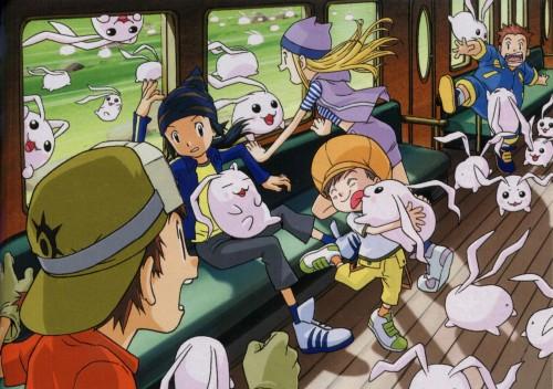 Toei Animation, Digimon Frontier, Kouji Minamoto, Tomoki Himi, Takuya Kanbara