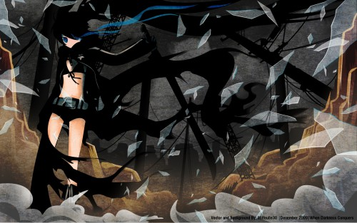 huke, Black Rock Shooter, Black Rock Shooter (Character) Wallpaper