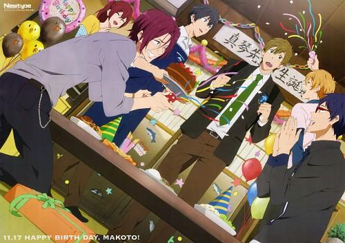 Kyoto Animation, Free!, Nagisa Hazuki, Makoto Tachibana, Gou Matsuoka