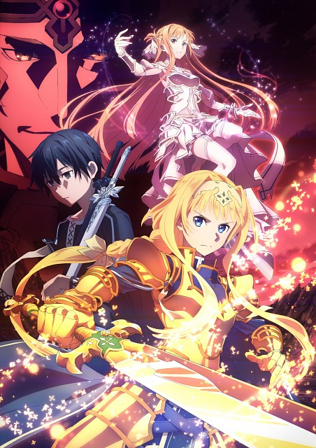 Shingo Adachi, A-1 Pictures, Sword Art Online, Asuna Yuuki, Alice Schuberg