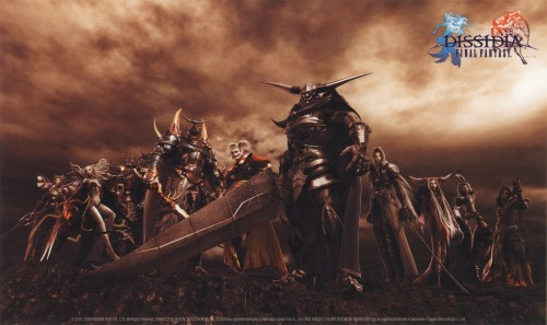 Square Enix, Final Fantasy Dissidia, Sephiroth, Jecht, Ultimecia