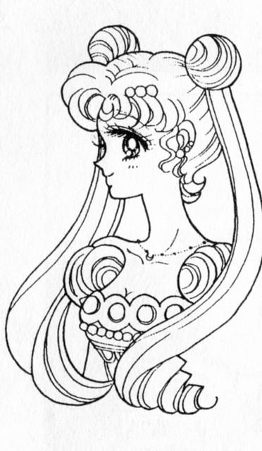 Naoko Takeuchi, Bishoujo Senshi Sailor Moon, Princess Serenity