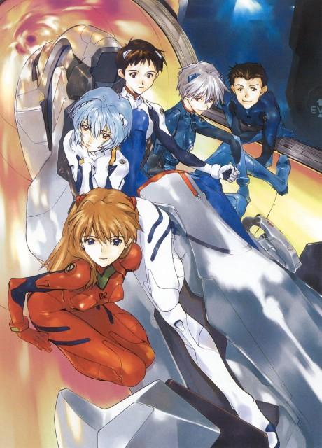 Takeshi Okazaki, Yoshiyuki Sadamoto, Neon Genesis Evangelion, Void (Artbook), Rei Ayanami