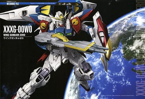 Youichi Ueda, Sunrise (Studio), Mobile Suit Gundam Wing, Gundam Perfect Files