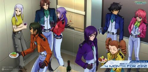 Mobile Suit Gundam 00, Lockon Stratos, Feldt Grace, Allelujah Haptism, Mileina Vashti