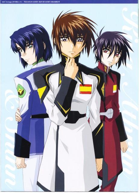 Hisashi Hirai, Sunrise (Studio), Mobile Suit Gundam SEED Destiny, Kira Yamato, Athrun Zala