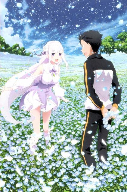 White Fox, Re:Zero, Emilia (Re:Zero), Subaru Natsuki, Magazine Page