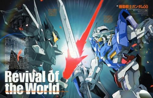 Mobile Suit Gundam 00, Magazine Page