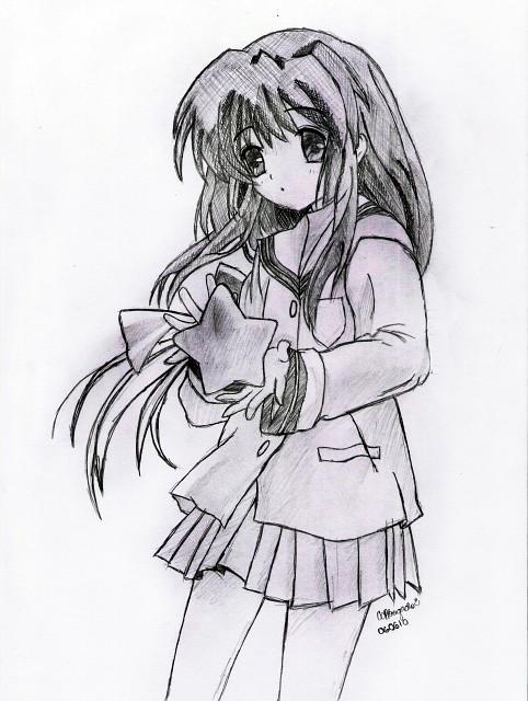 Kyoto Animation, Clannad, Fuko Ibuki, Member Art