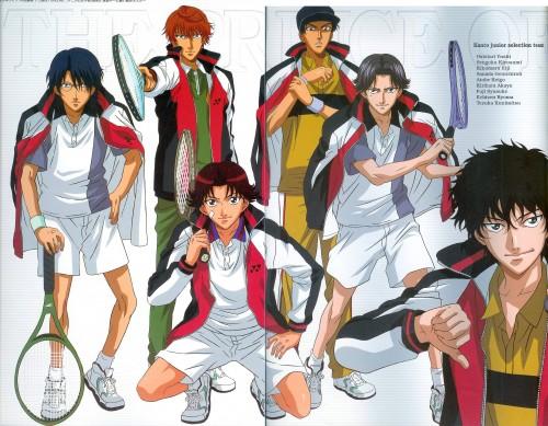 Takeshi Konomi, J.C. Staff, Prince of Tennis, Keigo Atobe, Yushi Oshitari