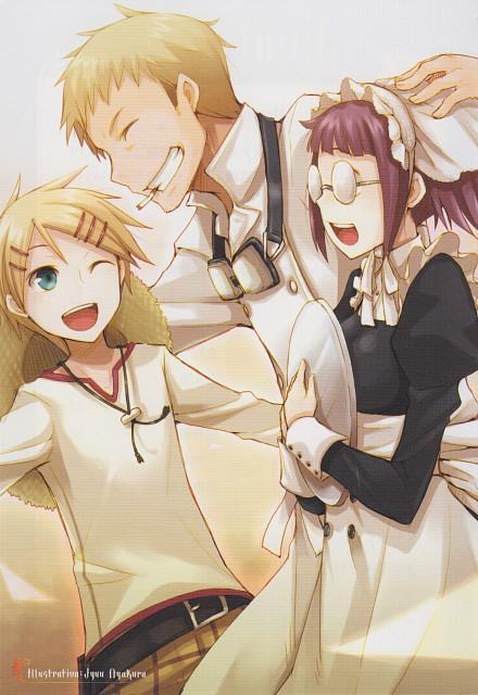 Juu Ayakura, Kuroshitsuji, Nijishitsuji Rainbow Butler 2 - Comic Anthology, Finnian, Maylene