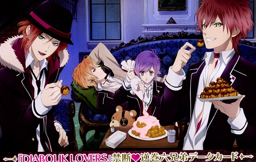Satoi, Idea Factory, Rejet, Diabolik Lovers, Kanato Sakamaki